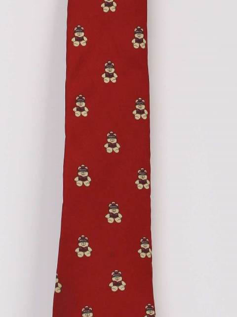 1990's Mens Accessories - Ugly Christmas Necktie to Wear With Your Ugly Christmas Sweater