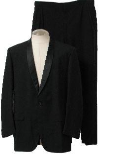 1960's Mens Tuxedo Suit