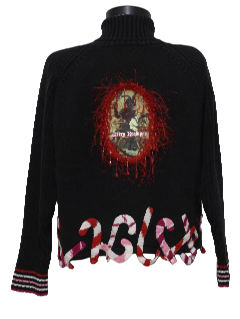 1980's Womens Ugly Christmas Krampus Sweater