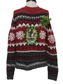 1980's Unisex Ugly Christmas Krampus Sweater