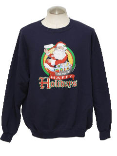 1990's Unisex Mail Carrier Ugly Christmas Sweatshirt