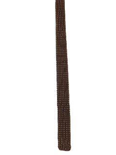 1950's Mens Skinny Mod Knit Necktie
