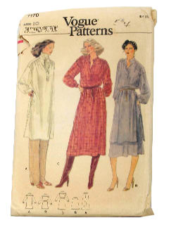 1980's Womens Sewing Pattern