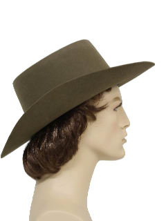 1980's Mens Accessories - Western Style Hat