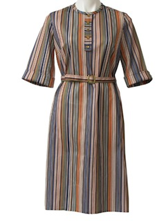 1970's Womens House Dress
