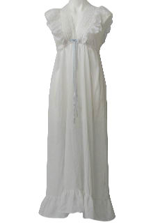 1970's Womens Lingerie - Nightgown