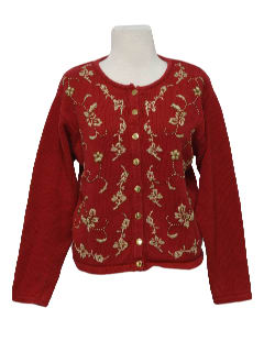 1990's Womens Kitschy Ugly Sweater