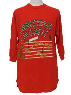 1990's Unisex Ugly Christmas Night Shirt Sweatshirt