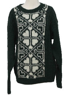 1990's Womens Wicked 90s Snowflake Ski Sweater