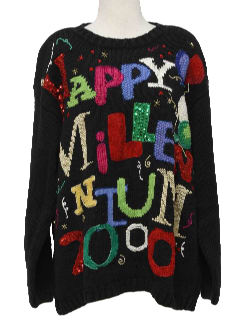 1990's Unisex After Christmas Ugly New Years Sweater