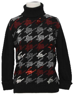 1990's Womens Cocktail Sweater