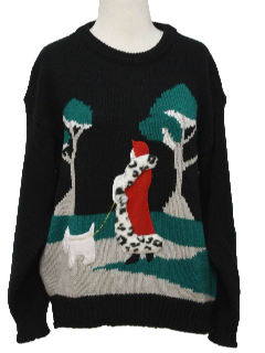 1990's Womens Cheesy Ugly Sweater