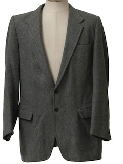 1960's Mens Wool Blazer Jacket