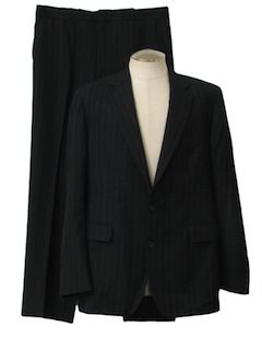 1990's Mens Pinstriped Suit