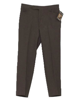 1980's Mens Mod Leisure Style Disco Pants