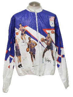 1990's Mens Dream Team 1992 Basketball Paper Jacket