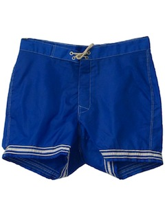 1970's Mens Mod Board Shorts
