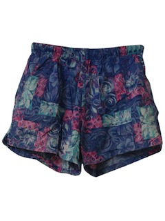 1990's Womens Wicked 90s Swim Shorts