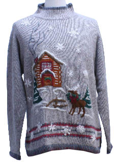 1970's Unisex Ugly Christmas Sweater