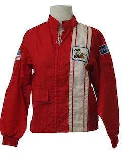 1970's Unisex/Childs Racing Jacket