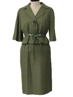 1950's Womens Fab Fifties Skirt Suit