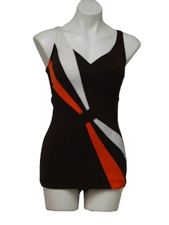 1970's Womens Mod Swimsuit