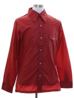 1970's Mens Ski Shirt