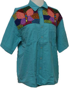 1980's Unisex Totally 80s Hippie Shirt