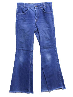 1970's Mens Levis Bellbottom Jeans Pants