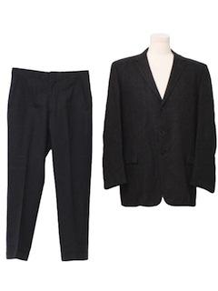 1950's Mens Mod Combo Suit