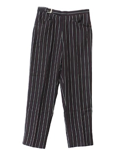 1960's  ModMens Leisure Style Slacks Pants