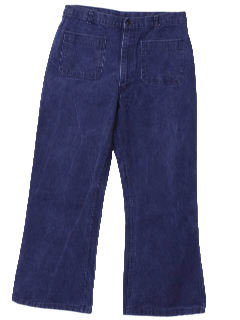 1970's Mens Bellbottom Jeans Pants