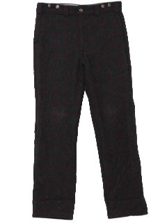 1980's Mens Wool Pants