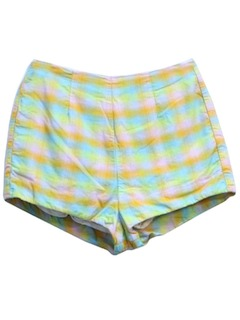 1960's Womens Mod Swim Short Shorts