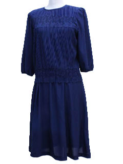 1970's Womens Knit Dress