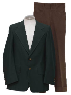 1970's Mens Disco Combo Suit