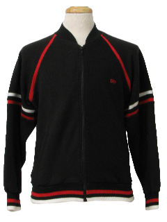 1980's Unisex Designer Track Jacket