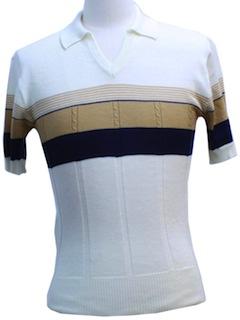 1980's Unisex Knit Shirt