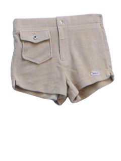 1980's Mens Super Short Terry Cloth Shorts