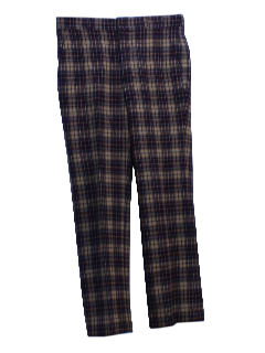1970's Mens Pendleton Wool Pants