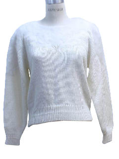 1990's Womens Wicked 90s Cocktail Sweater