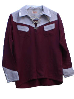 1940's Unisex Western Shirt