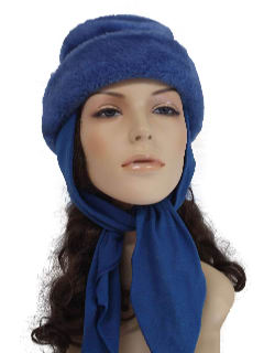1970's Womens Accessories - Fake Fur Hat