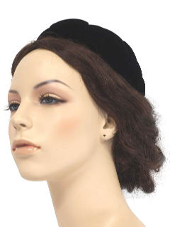 1960's Womens Accessories - Cocktail Hat