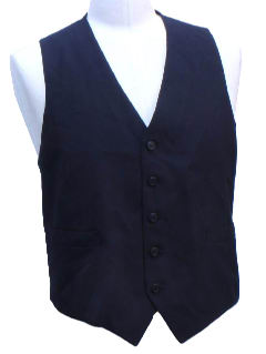 1970's Mens Suit Vest