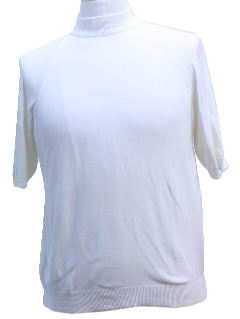 1960's Unisex Knit Ban-Lon Shirt