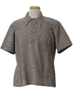 1970's Mens Pullover Sport Shirt