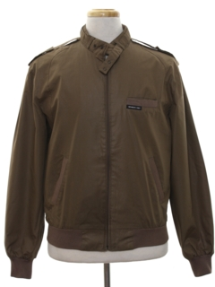 1980's Mens Eurocraft Members Only Jacket