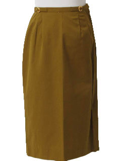 1960's Womens Mod Pencil Skirt
