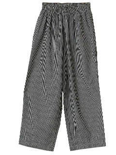 1980's Unisex Totally 80s Chef Pants